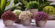 comprar plantas artificiales pequeñas