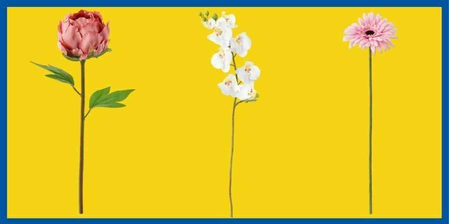 flores artificiales ikea