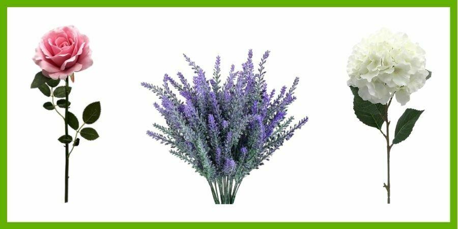 Flores Artificiales Leroy Merlin